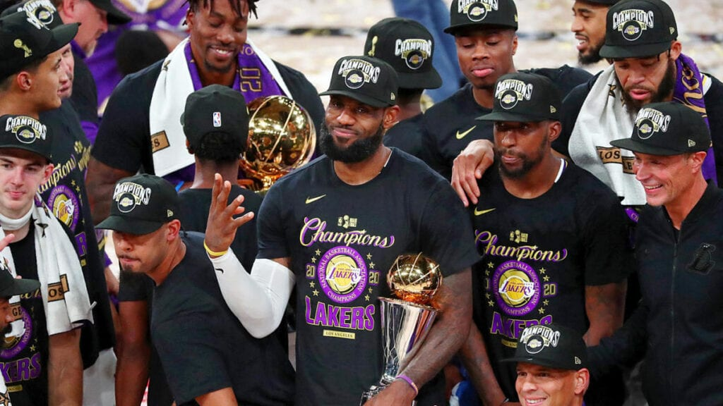 Lakers Win 17th NBA Championship   The Florida Star   The ...