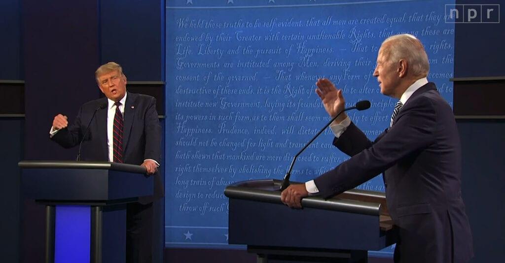presidential debate - photo #36
