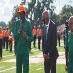 """FAMU Marching """"100"""" Unveils New Turf Practice Field"""